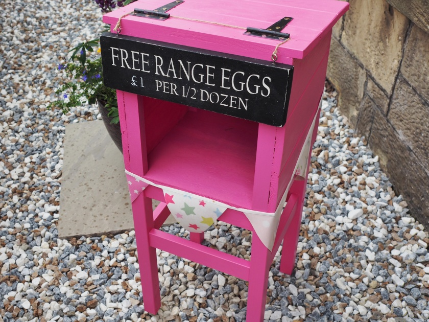 egg stand honesty box