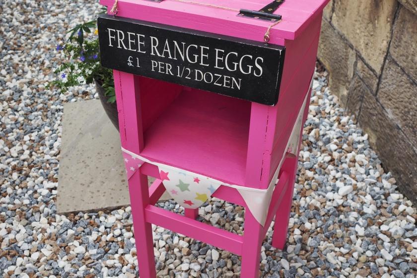 egg stand honesty box